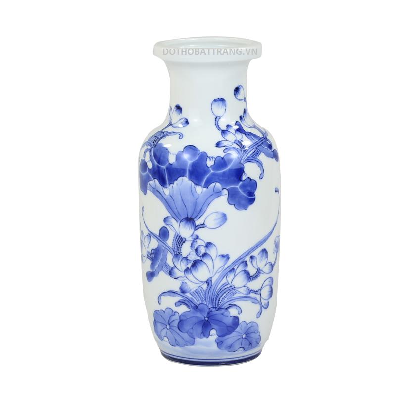 lo hoa men xanh Bat Trang 2