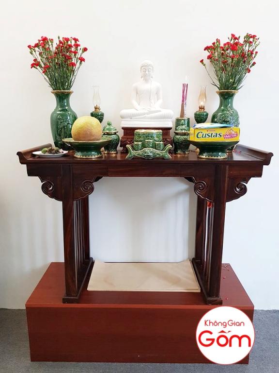 Bàn thờ phật nên đặt quay về hướng nào ? văn khấn bàn thờ phật tại nhà