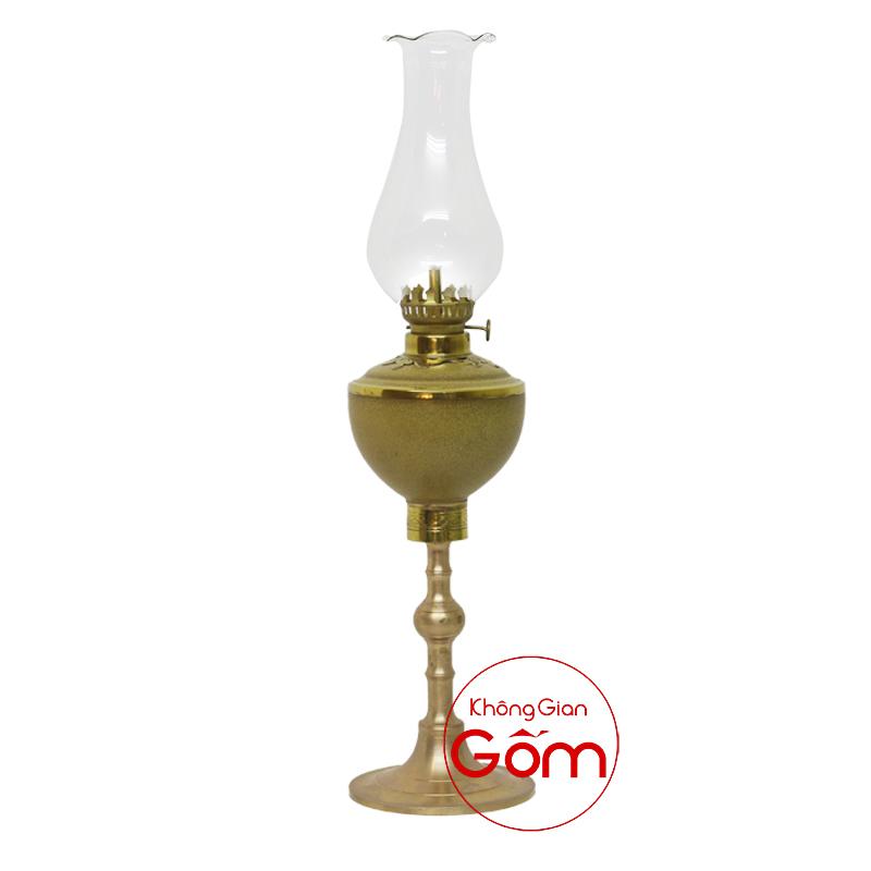 đèn dầu thờ gốm sứ Bát Tràng