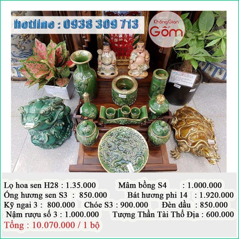 Bàn thờ ông địa bằng gỗ sồi mua ở đâu ? giá bán bao nhiêu tiền tại Đà Nẵng