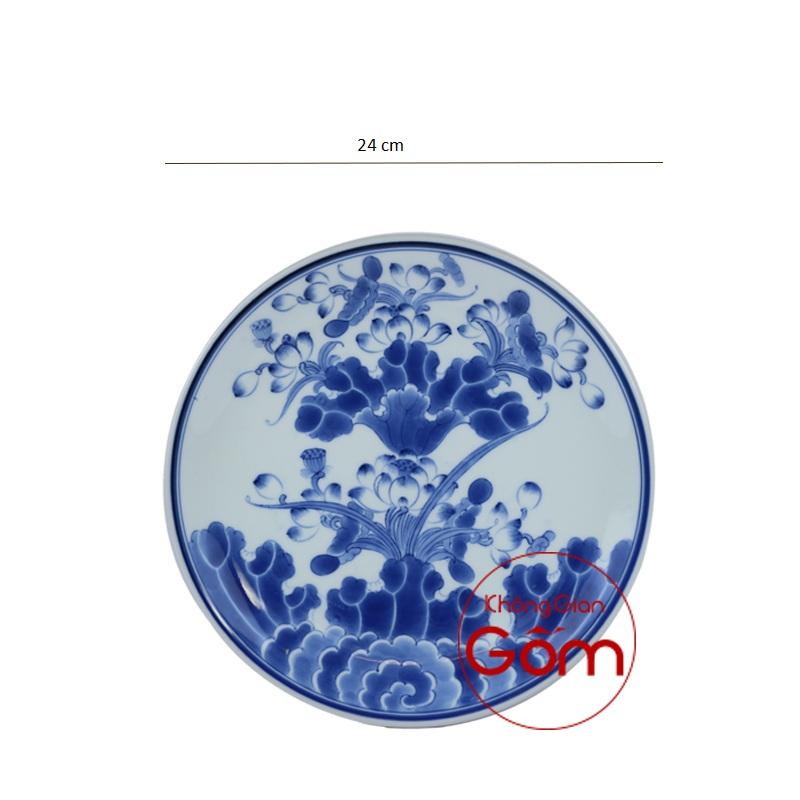 đĩa vẽ tay phi 24