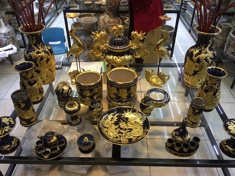 Đồ thờ dát vàng cao cấp