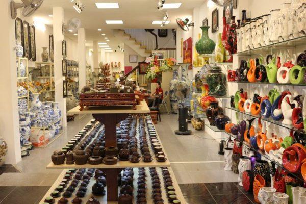 Cửa hàng bán gốm sứ Bát Tràng uy tín chất lượng tại Tp.HCM