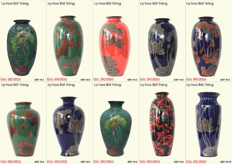 7 mẫu bình hoa đẹp hợp phong thủy cho người mệnh Hỏa