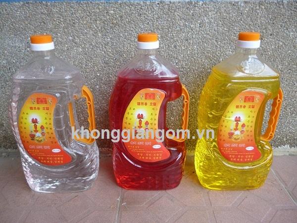 Giá dầu không khói bao nhiêu tiền 1 lit, bán ở đâu tại Tphcm