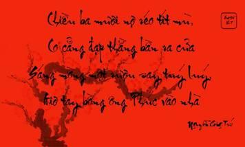 Bạn biết gì về tục treo câu đối đỏ ngày tết?
