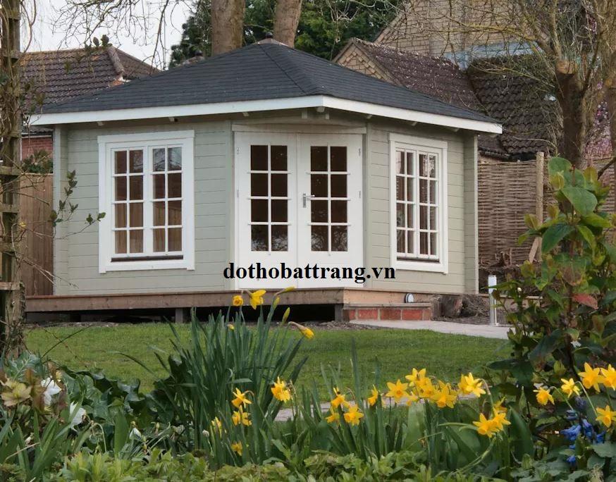 Thiết kế phòng khách ngoài vườn tuyệt đẹp