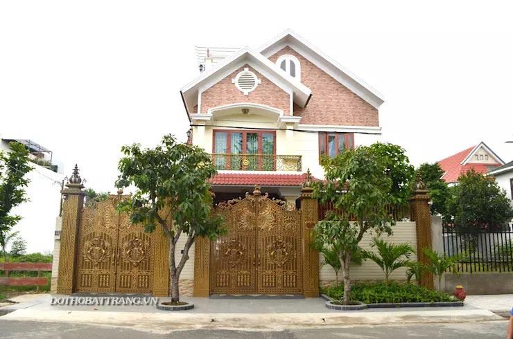 12 kiểu cổng nhà đẹp vững vàng hàng xóm ai cũng ghen tị