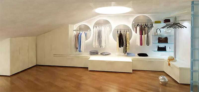 12 mẫu phòng thay đồ đẹp mà cô gái nào cũng mơ ước