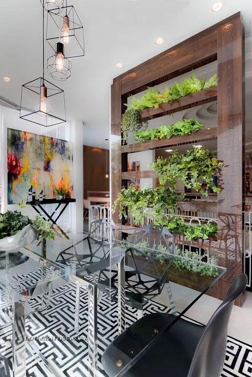 6 ý tưởng thiết kế vách ngăn độc đáo phân chia không gian nhà ở