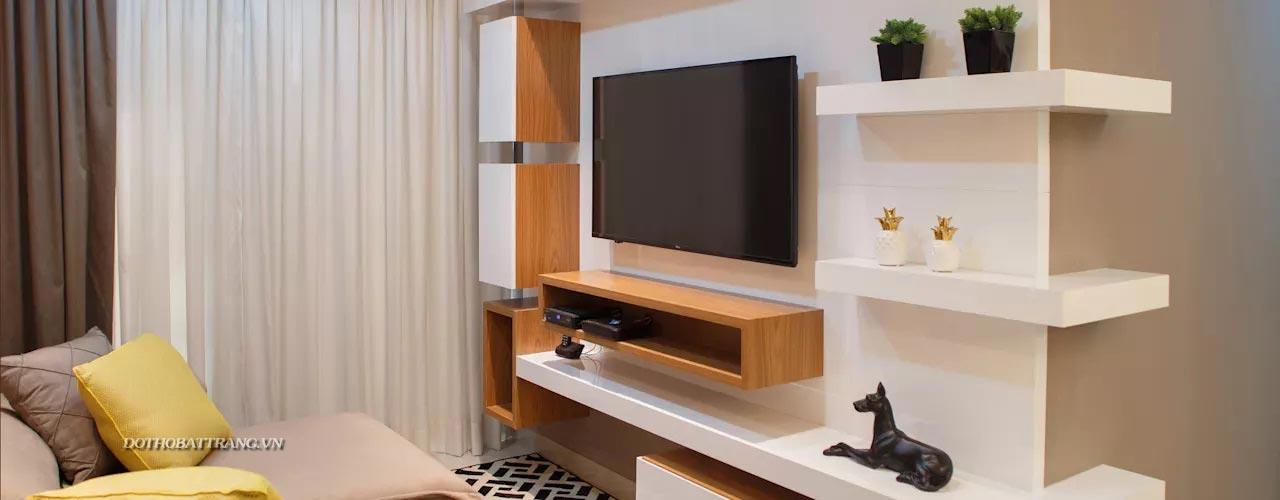 7 mẫu kệ Tivi đẹp đơn giản tiết kiệm để bạn áp dụng ngay