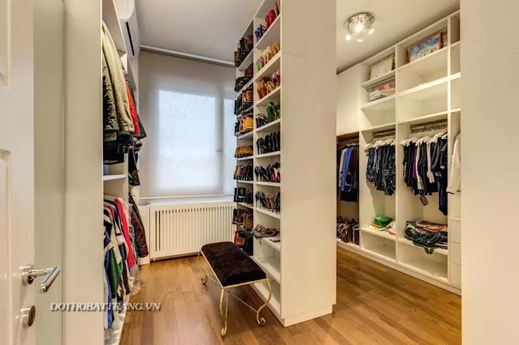 7 mẹo hay thiết kế tủ quần áo đẹp và gọn gàng nhất
