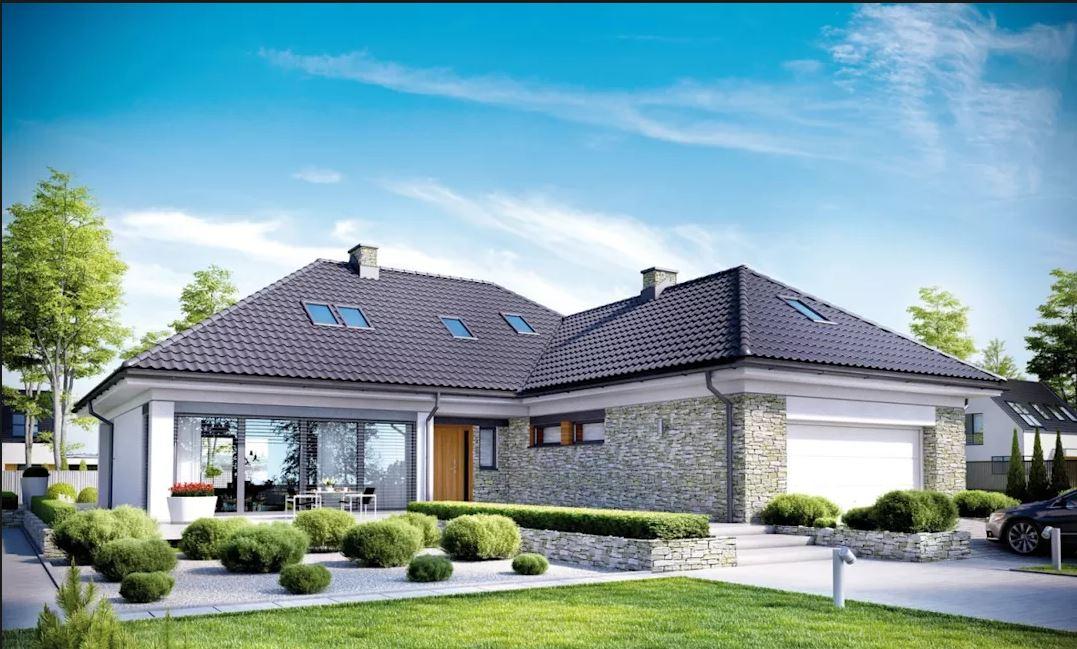 xây nhà 2 tầng hiện đại