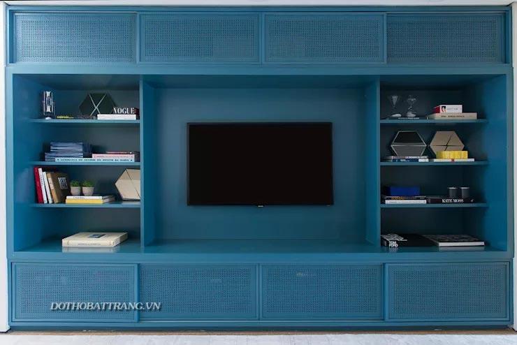 Cách đặt TV ở phòng khách nhỏ sao cho đẹp và hợp lý với 11 ý tưởng