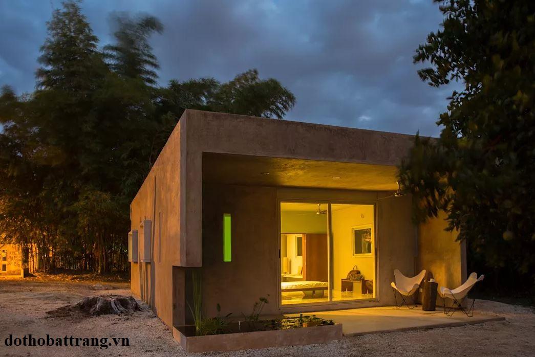 thiết kế nhà đẹp từ nhà kho 1