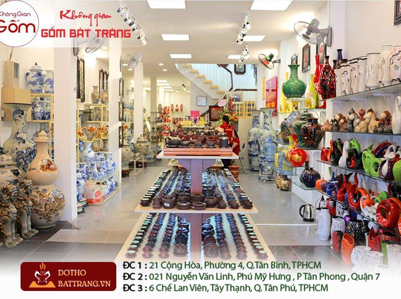 cửa hàng gốm sứ thờ cúng Bát tràng tại TPHCM