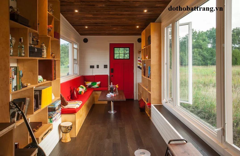 thiết kế nhà di động siêu nhỏ với đầy đủ công năng 1