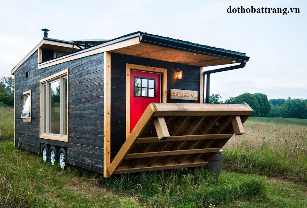 thiết kế nhà di động siêu nhỏ với đầy đủ công năng