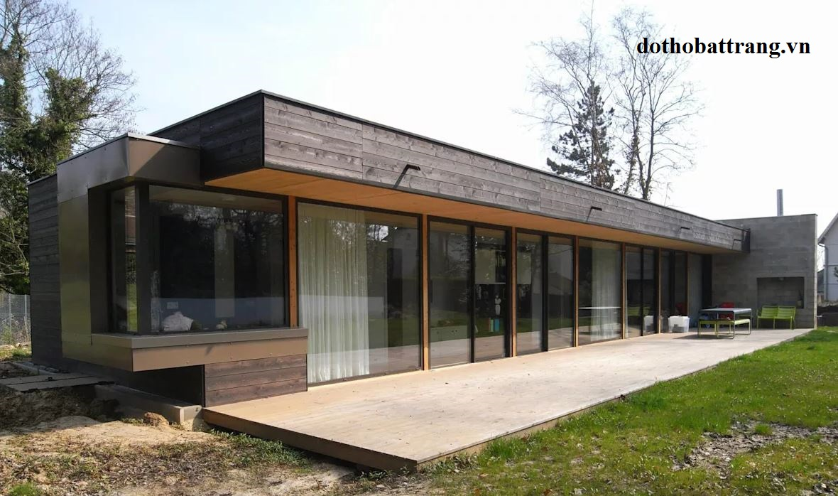 xây nhà mái bằng đẹp và hợp phong thủy 5
