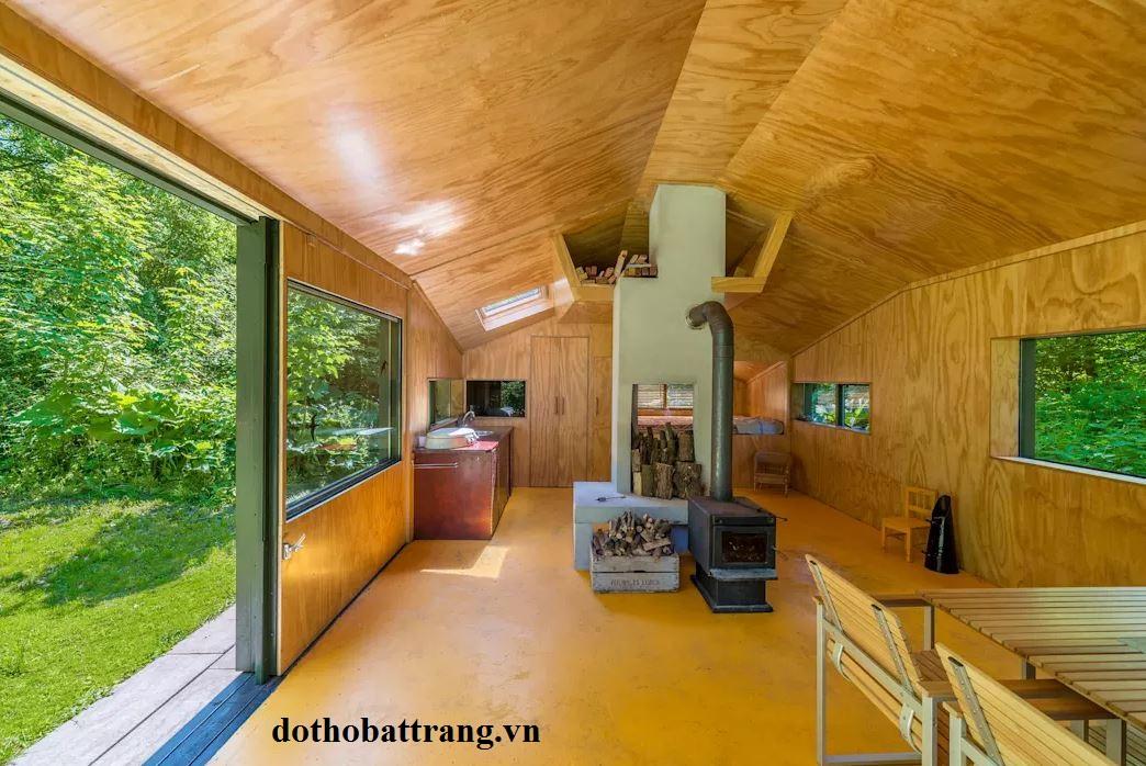 ngôi nhà cabin giữa rừng tuyệt đẹp 1