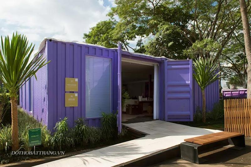 Nhà container đẹp: nhỏ mà có võ với nội thất lộng lẫy