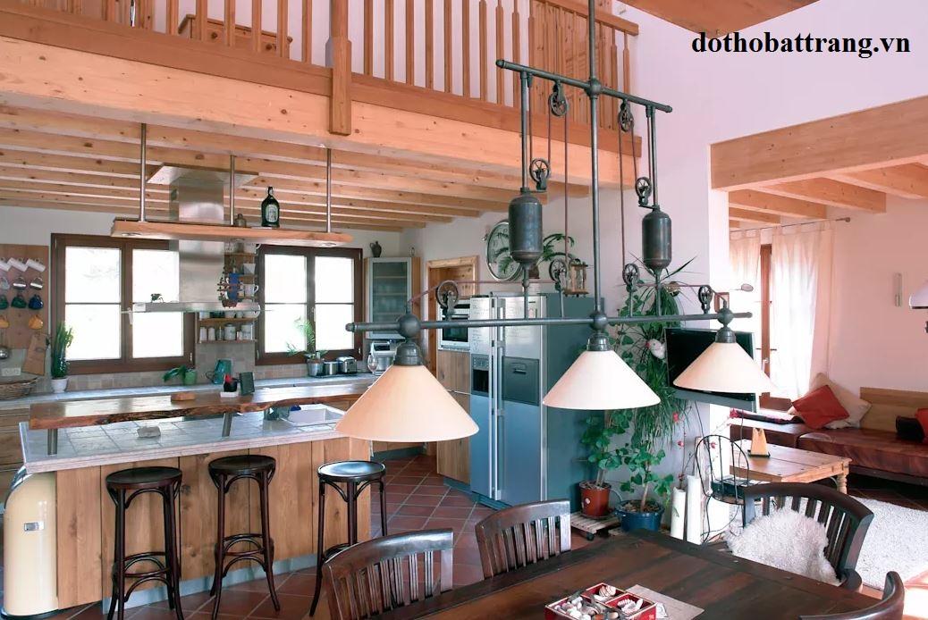 nhà gỗ 2 tầng đẹp như resort 3