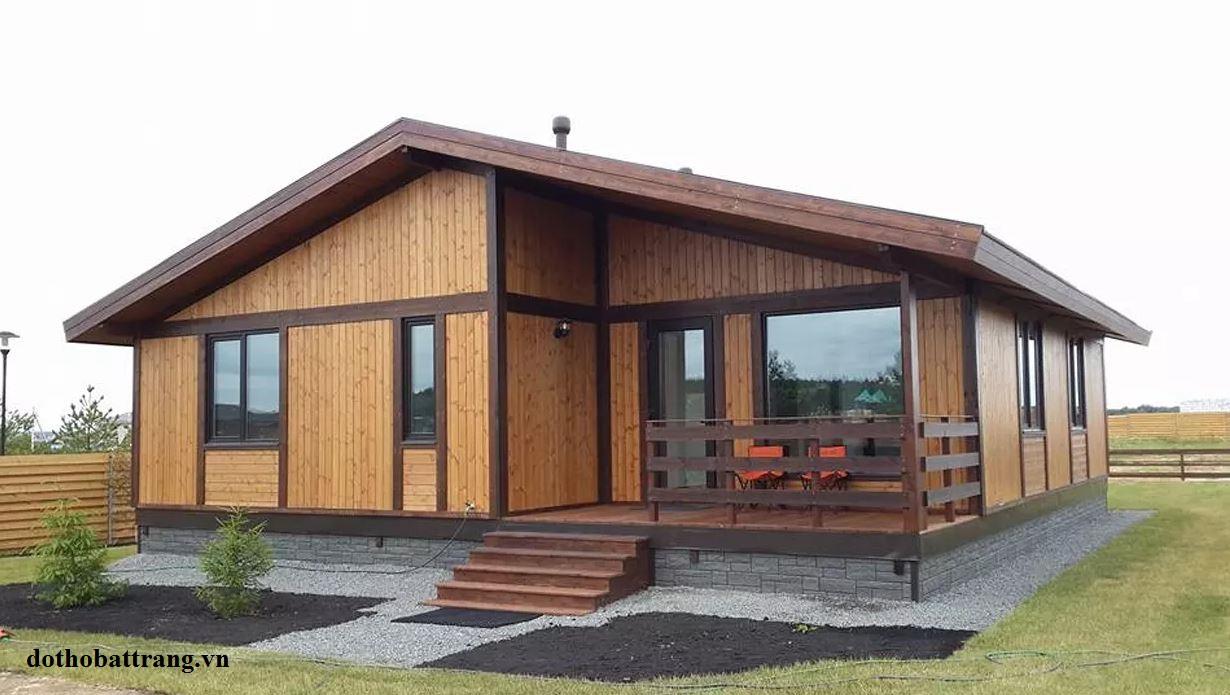nhà gỗ tuyệt đẹp xây trong vòng 3 tháng 1