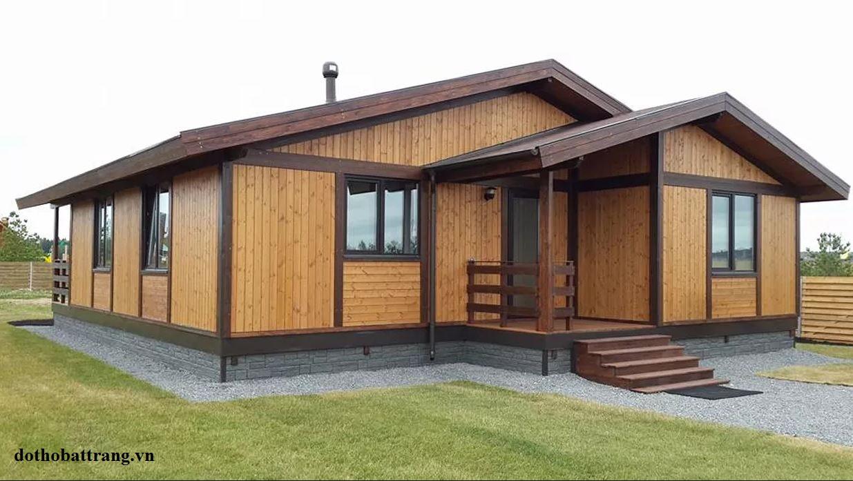 nhà gỗ tuyệt đẹp xây trong vòng 3 tháng