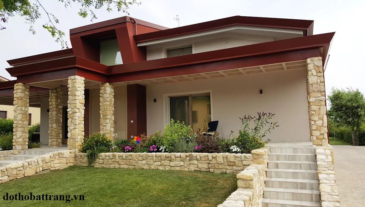 thiết kế nhà vườn 1 tầng mộc mạc 8