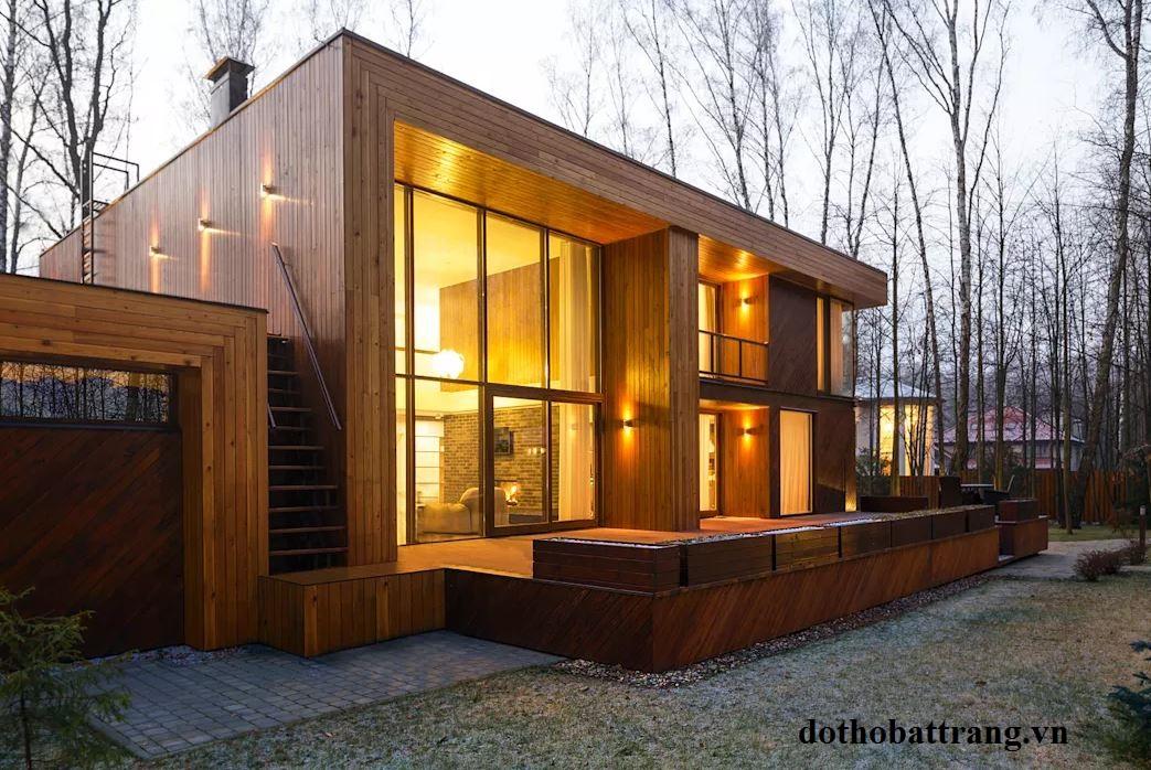 Những ngôi nhà gỗ đẹp nhất từ mọi phong cách 4