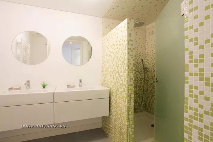Ốp tường phòng tắm siêu đẹp và độc đáo : 7 cách hay nhất