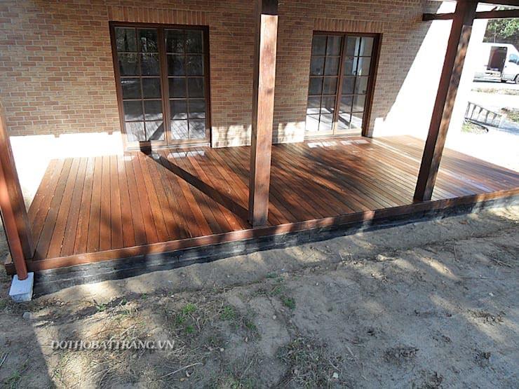 Thiết kế hiên nhà gỗ đẹp đơn giản và hoàn hảo [mới nhất 2018]