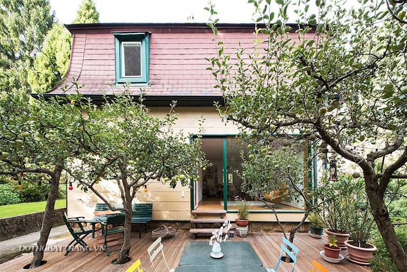 Thiết kế nhà đẹp kết hợp vườn nhỏ xinh giản dị, ai nhìn cũng mê