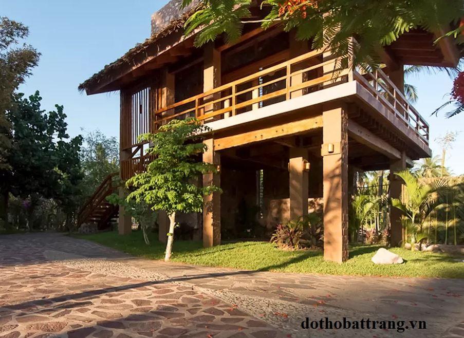 thiết kế nhà gỗ nhỏ xinh để nghỉ dưỡng