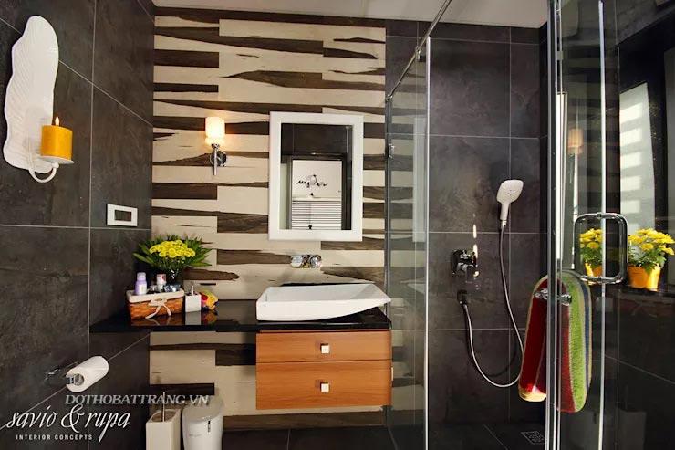 Thiết kế phòng tắm tiết kiệm mà đẳng cấp với 10 loại vật liệu sau