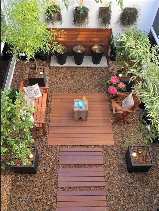 những kiểu khu vườn đẹp