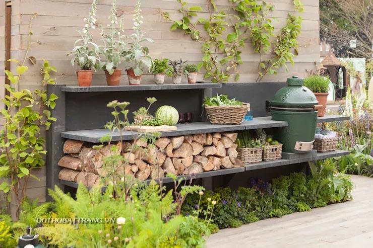 Trang trí sân vườn nhỏ đẹp ngất ngây với cách làm đơn giản tiết kiệm