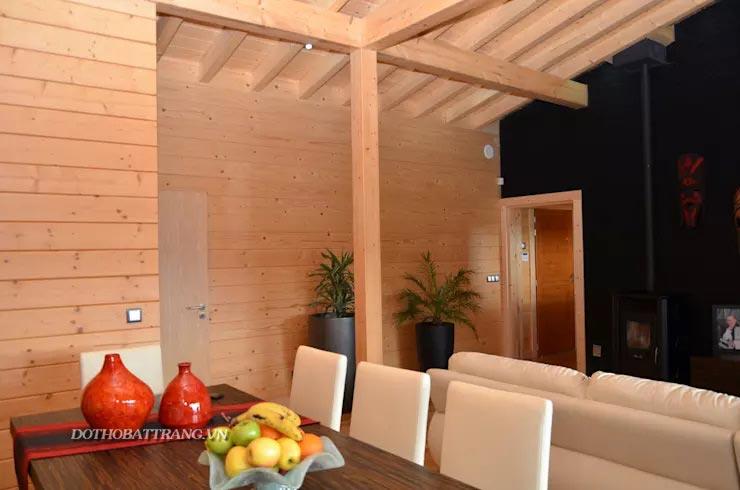 Xây nhà gỗ nghỉ dưỡng 2 gian như thiên đường kiểu bungalow (kèm bản vẽ)