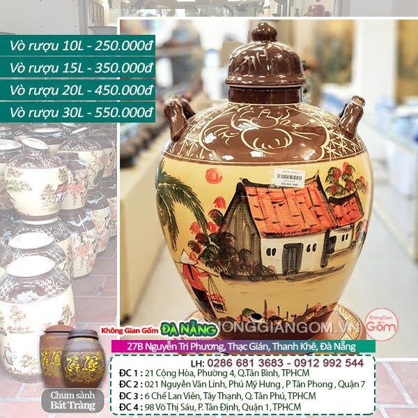 chum sành ngâm rượu giá rẻ tại Lai Châu