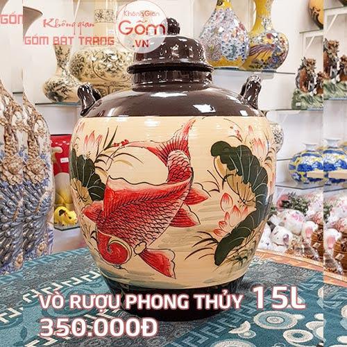 bình ngâm rượu pha lê tại quận Bình Tân 3