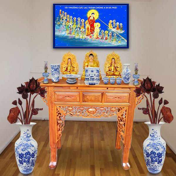 Lập bàn thờ tổ tiên nét truyền thống của mọi gia đình Việt