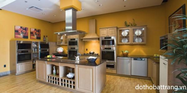 phong thủy bếp và phòng ăn người mệnh Kim, mệnh kim bày trí bếp và phòng ăn