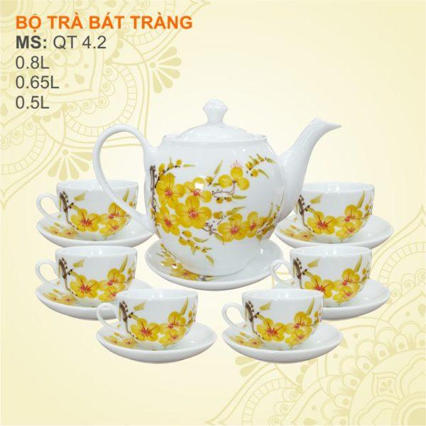 Bộ trà Bát Tràng, người mệnh Kim hợp với mệnh nào