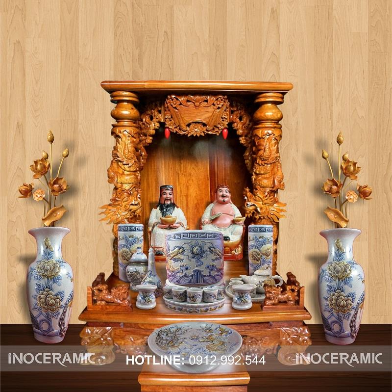 Bộ bàn thờ ông địa, thần tài