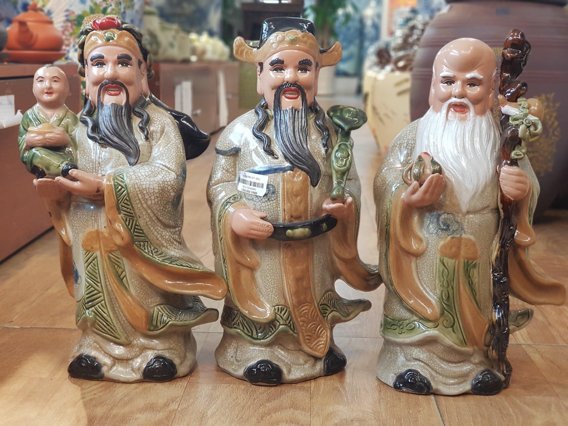 Ý nghĩa của bộ tượng Tam Đa - Tủ thờ tam đa