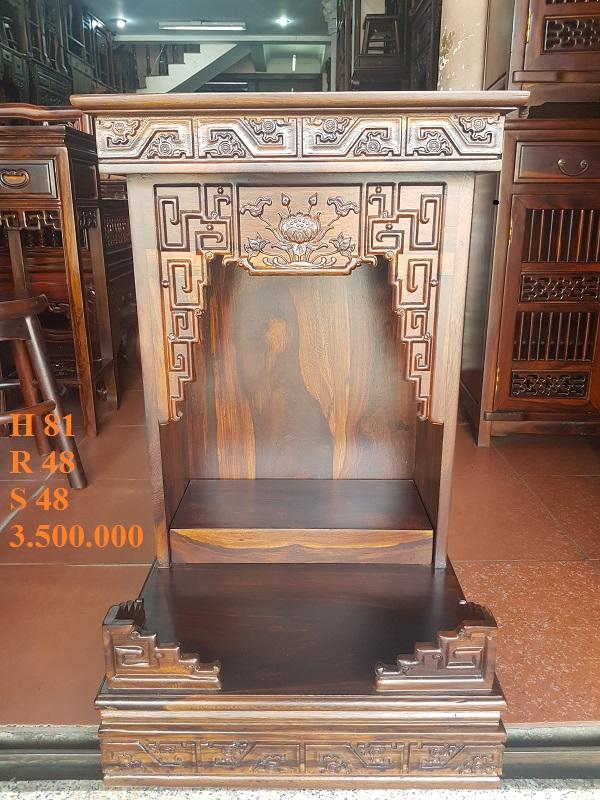 Cung cấp bàn thờ ông địa, ông thần tài mẫu mã đẹp, đa dạng tại Ninh Thuận