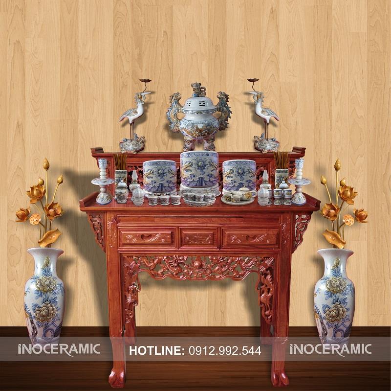 Bàn thờ gỗ cẩm vàng mua ở đâu ? giá bán bao nhiêu tiền ?