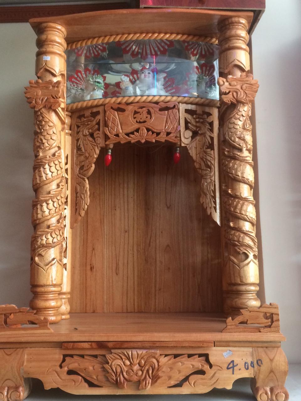 Địa chỉ mua bàn thờ thần tài đẹp tại Đà Nẵng