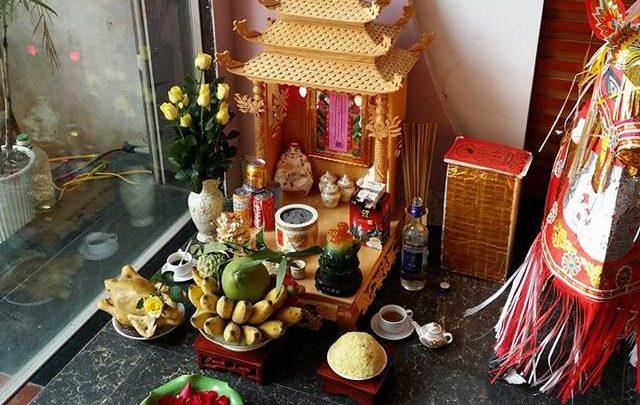 Hướng dẫn cách đặt hoa quả trên bàn thờ ông địa