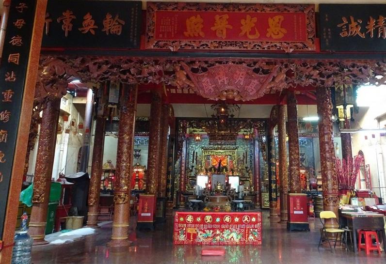 Điện thờ Bà Thiên Hậu và Thần Thành Hoàng bổn cảnh
